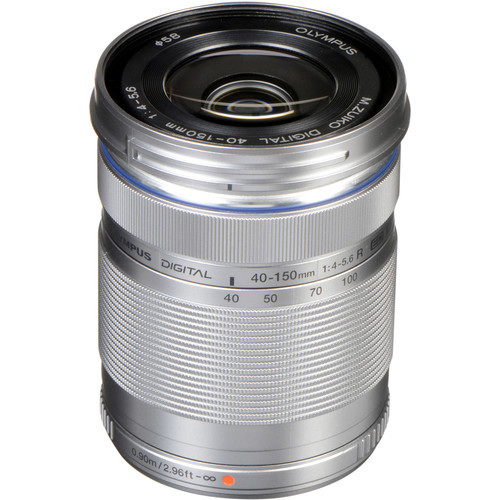 Olympus M.Zuiko Digital ED 40-150mm f/4.0-5.6 R Lens for Micro 4/3
