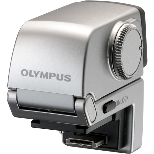 Olympus VF-3 Electronic Viewfinder for Select Olympus PEN Cameras (Silver)