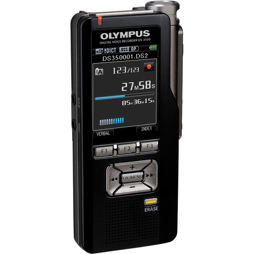 Olympus DS-3500 Professional Dictation Digital Voice Recorder