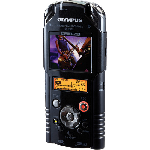 Olympus LS-20M Linear PCM Recorder
