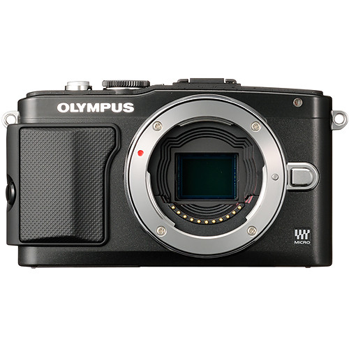 Olympus E-PL5 Mirrorless Micro Four Thirds Digital Camera Body (Black)
