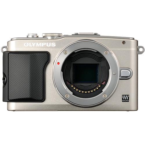 Olympus E-PL5 Mirrorless Micro Four Thirds Digital Camera Body (Silver)