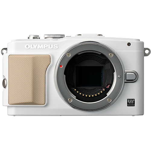 Olympus E-PL5 Mirrorless Micro Four Thirds Digital Camera Body (White)