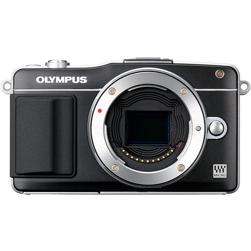 Olympus E-PM2 Mirrorless Micro Four Thirds Digital Camera Body (Black)