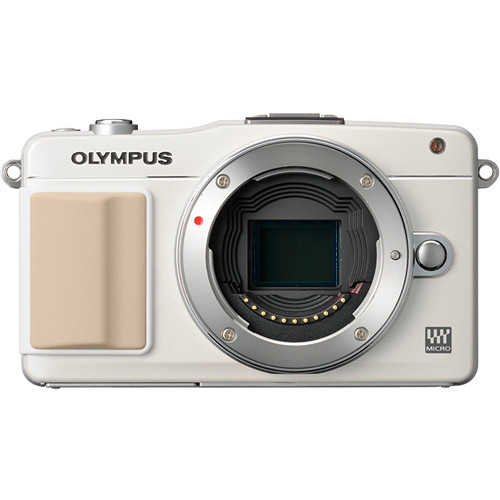 Olympus E-PM2 Mirrorless Micro Four Thirds Digital Camera Body (White)