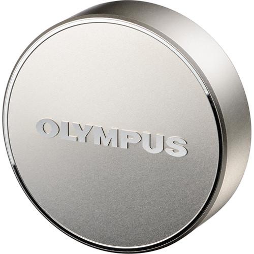 Olympus LC-61 Lens Cap for M.Zuiko Digital ED 75mm f/1.8 Lens (Silver)