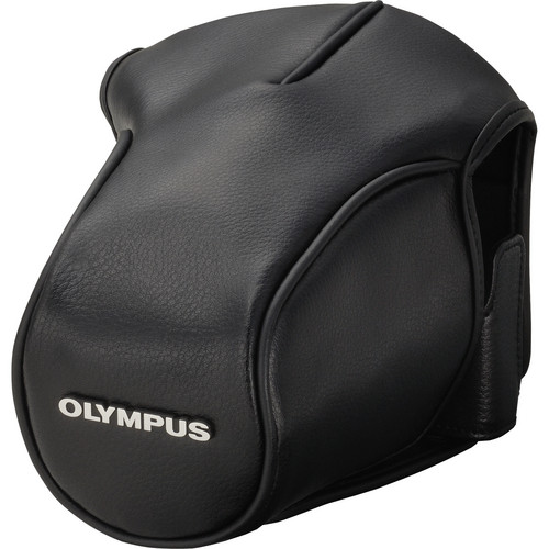 Olympus CS-36FBC Leather Wrap Around Case for OM-D E-M5 Digital Camera (Black)