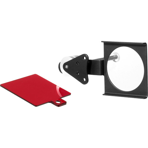 Omega Under-the-Lens Filter Holder with Red Safety Filter