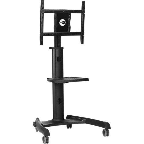 "OmniMount Heavy Duty Flat Panel Cart (37-55"", Black)"