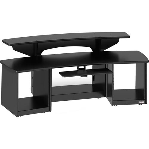 Omnirax Force 24 Multi-purpose Audio Video Workstation (Black)
