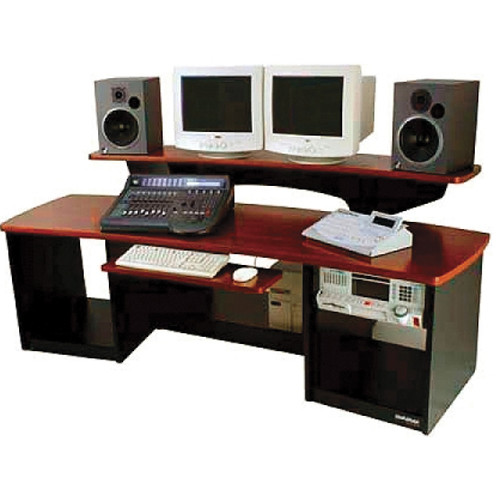 Omnirax Force 24 Multi-purpose Audio Video Workstation (Mahogany)