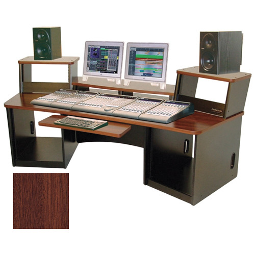 Omnirax Force 36 Multi-purpose Audio Video Workstation (Mahogany)