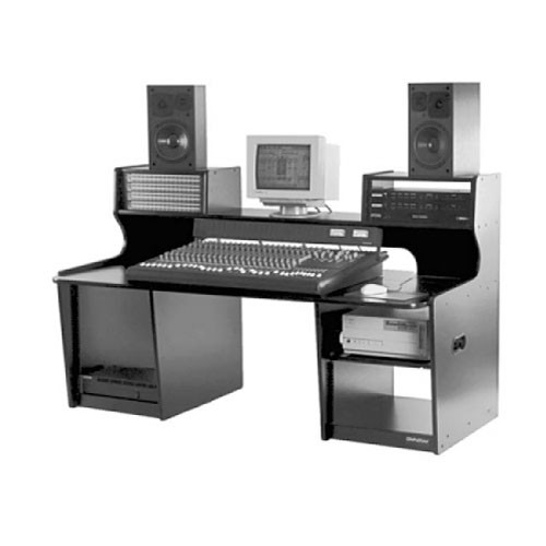 Omnirax ProStation M/C Workstation (Black Melamine)