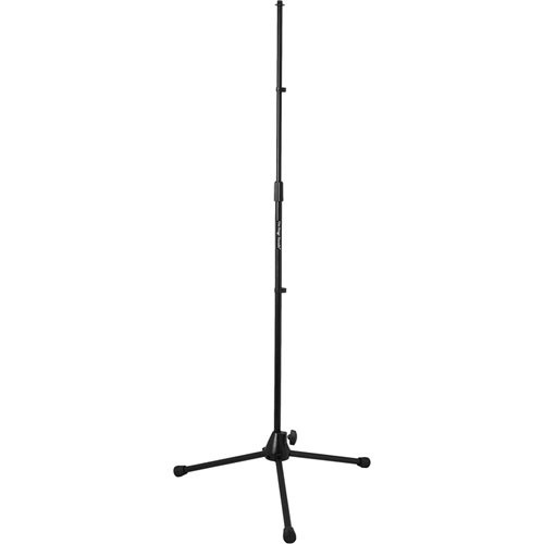 On-Stage MS9700B+ Heavy-Duty Tripod Base Microphone Stand (Black)