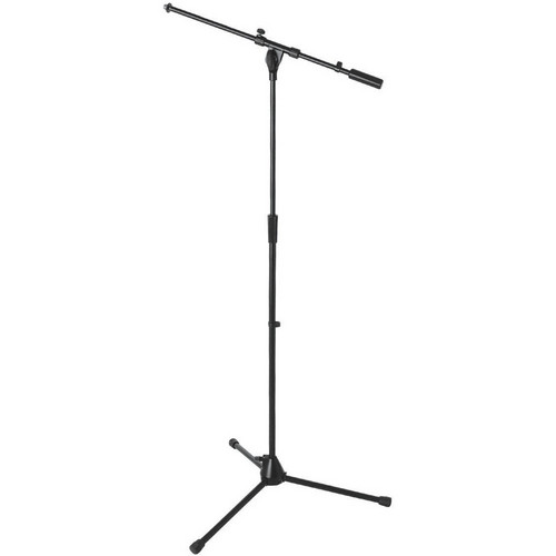 On-Stage MS9701B+ Heavy-Duty Euro Boom Mic Stand (Black)