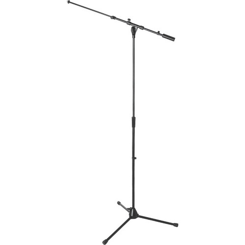 On-Stage MS9701TB+ Heavy-Duty Tele-Boom Mic Stand (Black)