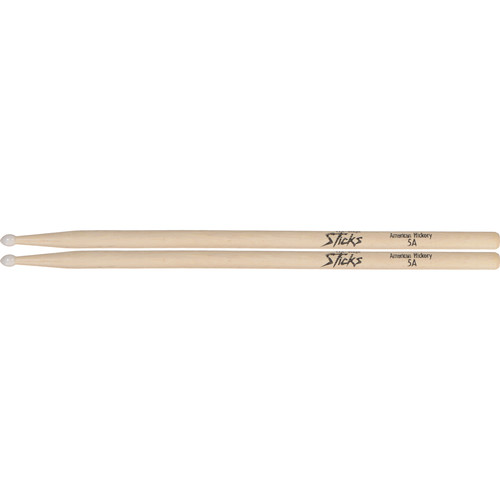 On-Stage American Hickory Drumsticks with Nylon Tips