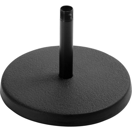 On-Stage DS7100B Basic Fixed-Height Desktop Stand with Black Shaft
