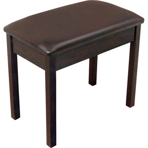 On-Stage KB8802R Padded Keyboard and Piano Bench (Rosewood)