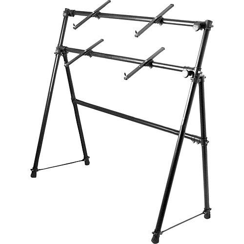 On-Stage KS7902 - Two-Tier A-Frame Keyboard Stand
