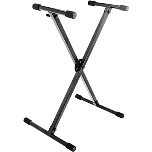 On-Stage KS8290 Ergo-Lok Single-X Lok-Tight Keyboard Stand