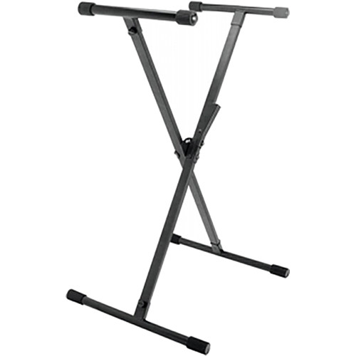 On-Stage KS8390 Single-X Lok-Tight Quiksqueeze Keyboard Stand