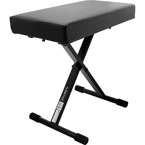 On-Stage KT-7800+ Deluxe X-Style Keyboard Bench