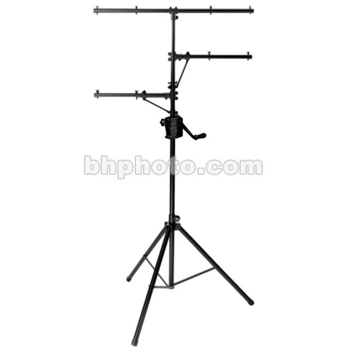 On-Stage Power Crank-Up Lighting Stand (Black, 11.5')