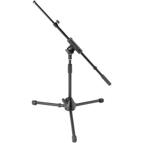 On-Stage MS7411TB Kick Drum / Amp Tripod Mic Stand with Boom