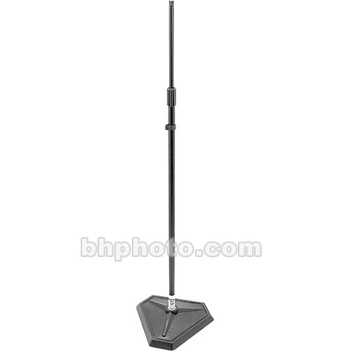On-Stage MS7625B Hex-Base Quarter-Turn Threadless Microphone Stand (Black)