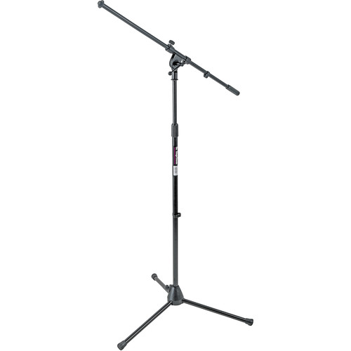 On-Stage MS7701B Euro-Boom Mic Stand (Black)