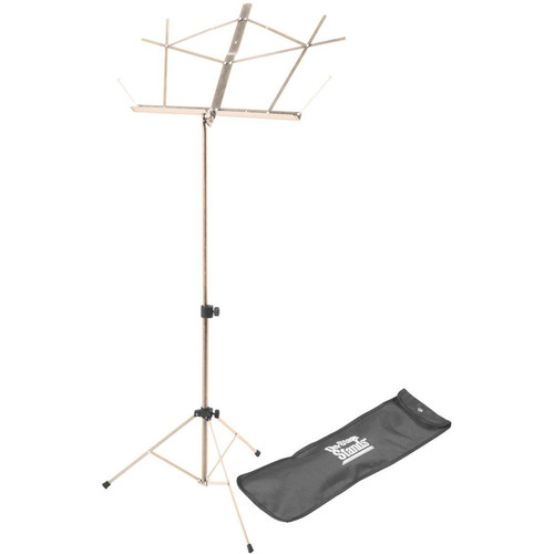 On-Stage SM7122NB Compact Sheet Music Stand (Nickel, with Bag)
