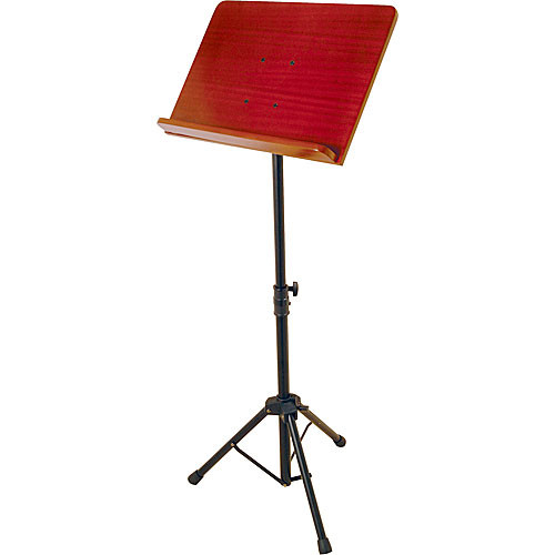 On-Stage SM7311W Conductor Stand with Wood Bookplate
