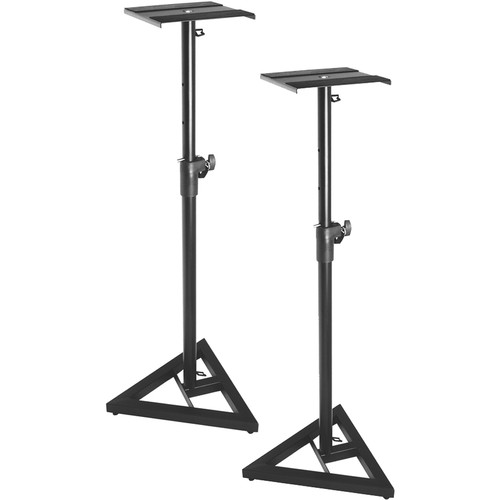On-Stage SMS6000-P - Adjustable Studio Monitor Stand - Pair