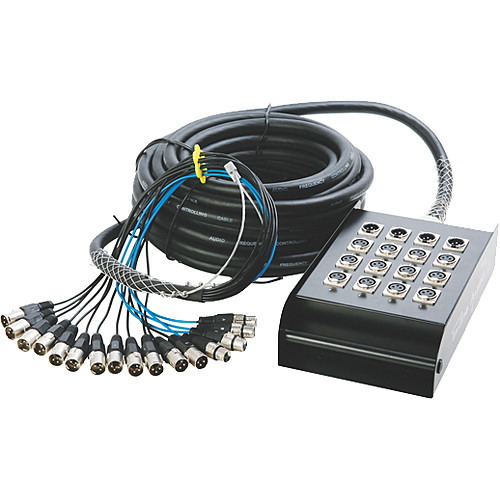 On-Stage SNK124100 In-Line Audio Series Snake (100ft)