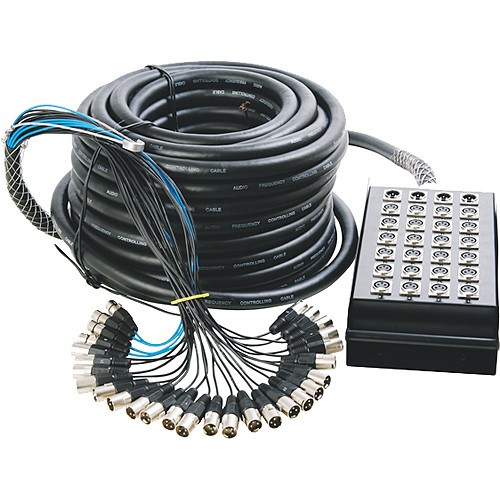On-Stage SNK24450 In-Line Audio Series Snake (50ft)