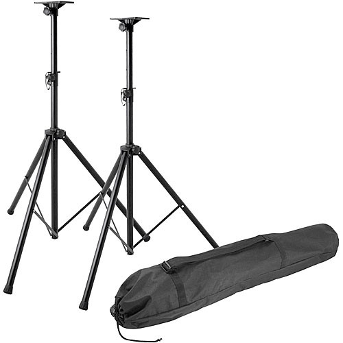 On-Stage SSP7850 Professional Speaker Stand Pak