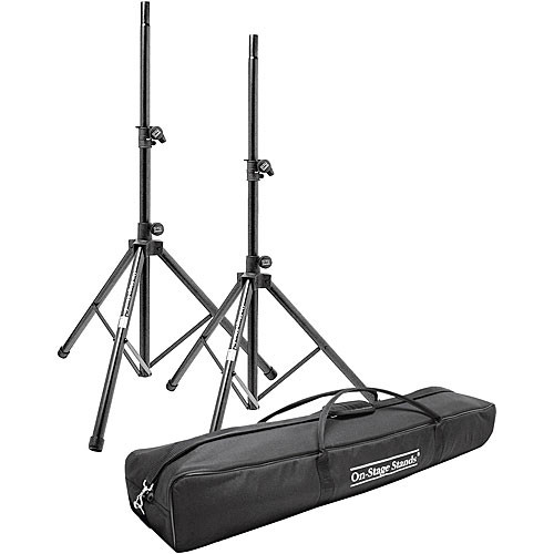 On-Stage SSP7950 Aluminum Speaker Stand Pak