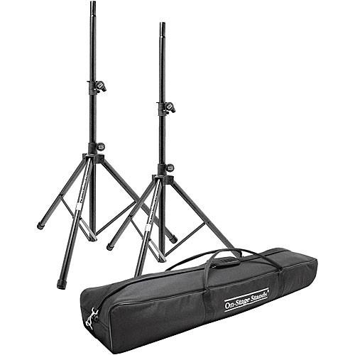On-Stage SSP7950 Aluminum Speaker Stand Pak