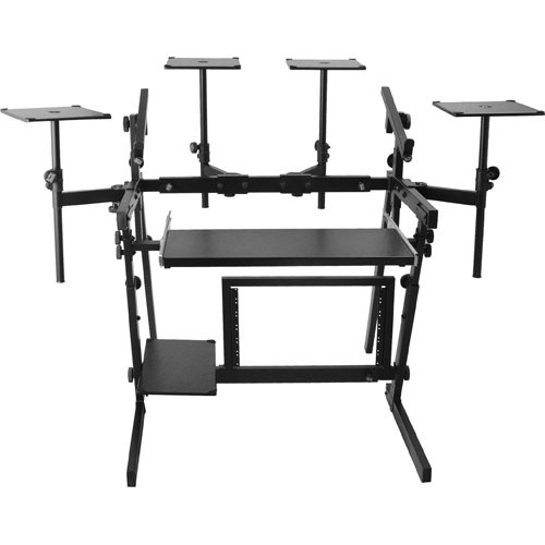 On-Stage WS8700 - Professional Audio Workstation Stand