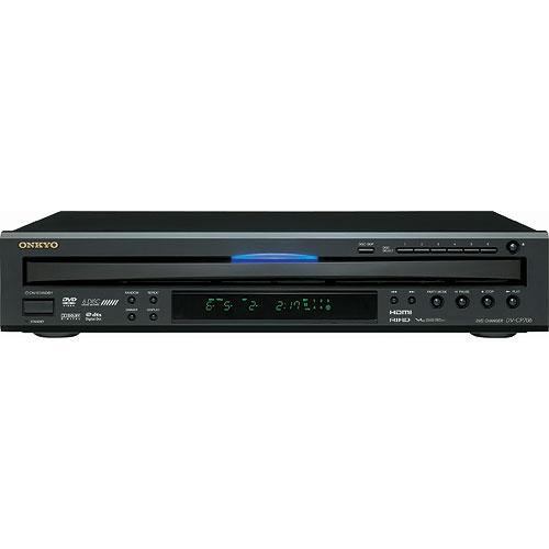 Onkyo DV-CP706B 6-Disc Carousel DVD Player (Black)