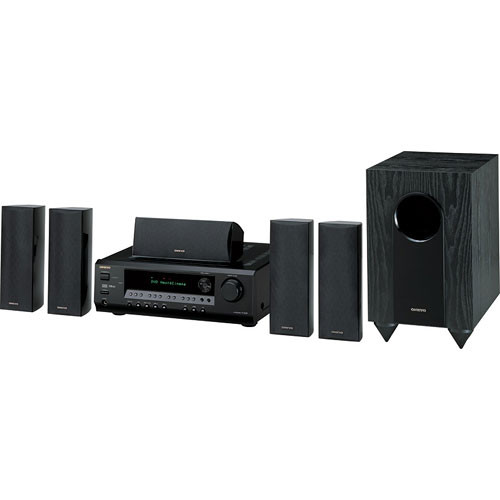 onkyo ht s3100b 5 1 channel home theater system black. Black Bedroom Furniture Sets. Home Design Ideas