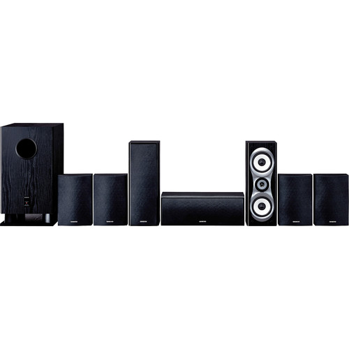 Onkyo SKS-HT540 7.1 Home Theater Surround Sound System (Black)