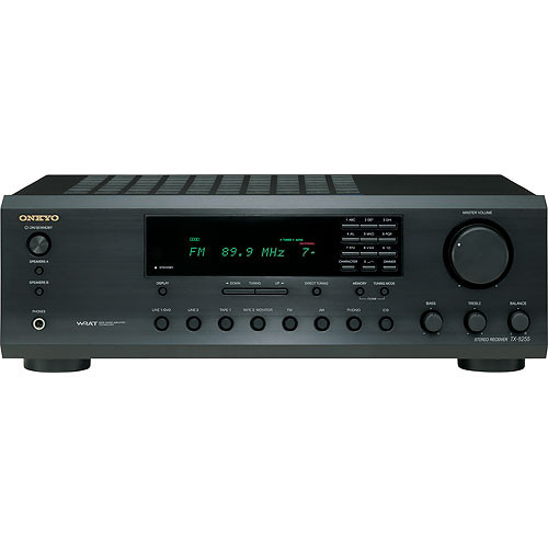 Onkyo TX-8255 2-Channel Stereo Receiver (Black)