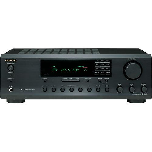 Onkyo TX-8255 2-Channel Stereo Receiver (Black)