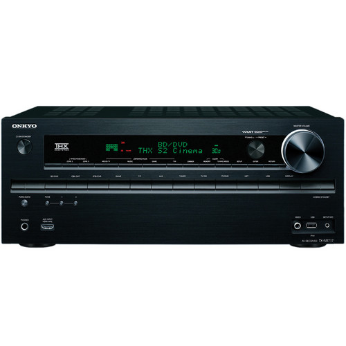 Onkyo TX-NR717 7.2 Channel Network A/V Receiver