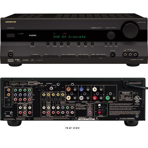 Onkyo TX-SR505 Home Theater Receiver (Black)