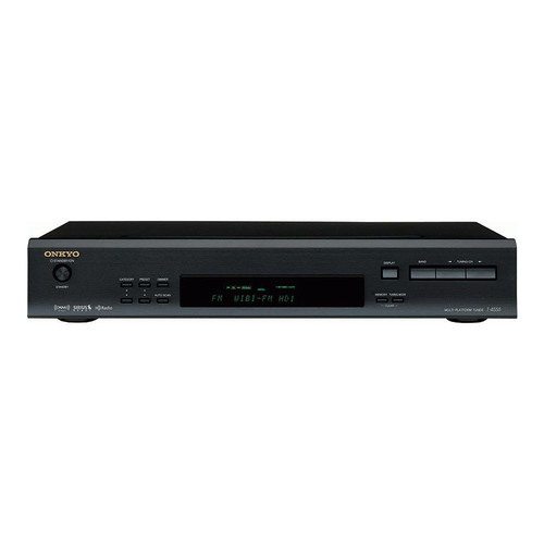 Onkyo T-4555 HD/AM/FM/XM Ready/Sirius Ready Tuner in (Black)