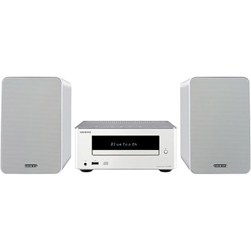 Onkyo CS-355 CD Hi-Fi Mini System with Bluetooth (White)
