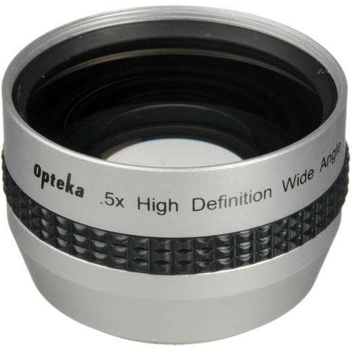 Opteka 0.45x High Definition II Wide Angle Lens for Digital Video Cameras (37mm)
